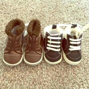 Other - NWT Bundle of 2 baby boy shoes, baby boots, winter